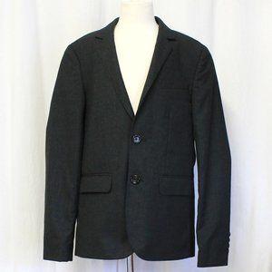 Crewcuts Boys Ludlow Suit Jacket Italian Wool Grey